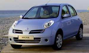 Технические характеристики Nissan Micra K12 (2002-2010)