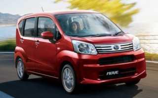 Мировой лидер кей-каров — Daihatsu Move