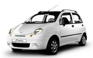 МКПП Daewoo Matiz: самостоятельная замена масла