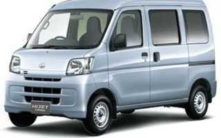 Daihatsu Hijet: маленький снаружи — огромный внутри
