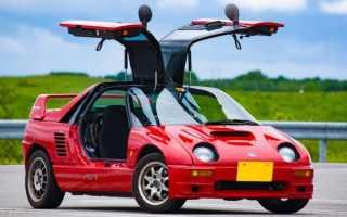 Mazda Autozam AZ-1 впечатлила тех, кто ее создал