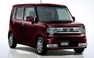 Daihatsu Move Conte: маленький снаружи — огромный внутри