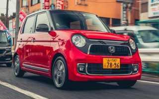 Honda N-One: кей кар с интересной внешностью