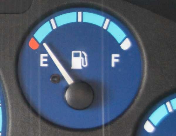 Потребление бензина